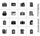 document icons. vector...