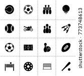 ball icons. vector collection...