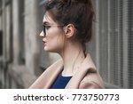 street fashion concept....   Shutterstock . vector #773750773