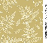 gold background with geometric...   Shutterstock .eps vector #773776978