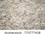 an old oriented strand board ...   Shutterstock . vector #773777428