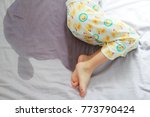 image of child pee on the... | Shutterstock . vector #773790424
