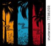 Three Grunge Summer Holiday...