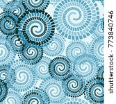 seamless texture. chaotically... | Shutterstock .eps vector #773840746