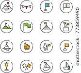 line vector icon set  ... | Shutterstock .eps vector #773859490