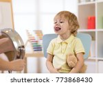 speech therapy exercises with... | Shutterstock . vector #773868430