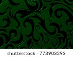retro glass texture background | Shutterstock . vector #773903293