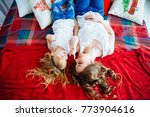 mother with daughter have fub... | Shutterstock . vector #773904616