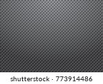 perforated metal gradation... | Shutterstock .eps vector #773914486