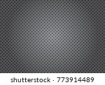 perforated metal gradation... | Shutterstock .eps vector #773914489