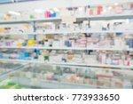 pharmacy drugstore shop... | Shutterstock . vector #773933650