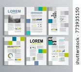 business brochure template... | Shutterstock .eps vector #773935150