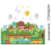 ecological farm use of