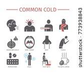 common cold. flu season.... | Shutterstock . vector #773938843