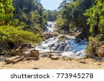 datanla waterfall in dalat ... | Shutterstock . vector #773945278