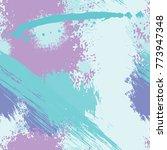 splash brush strokes seamless... | Shutterstock .eps vector #773947348