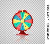 jackpot symbol of lucky lottery ... | Shutterstock .eps vector #773954056