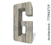 conceptual wood or wooden brown ... | Shutterstock . vector #773963719