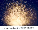 gold abstract background with...   Shutterstock . vector #773973223