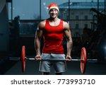 bodybuilder young handsome... | Shutterstock . vector #773993710