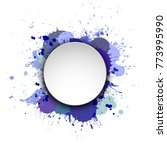 banner blot presentation ... | Shutterstock .eps vector #773995990