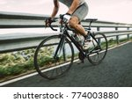 detail of a road bike with a... | Shutterstock . vector #774003880