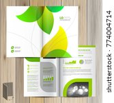 floral brochure template design ... | Shutterstock .eps vector #774004714
