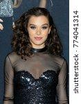 los angeles   dec 12   hailee... | Shutterstock . vector #774041314