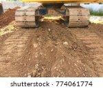 Tracked Excavator Work...