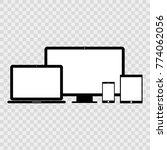 devises icon set   Shutterstock .eps vector #774062056