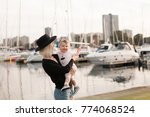 mother and daugther spending... | Shutterstock . vector #774068524