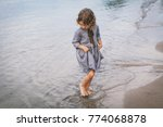 adorable happy smiling little... | Shutterstock . vector #774068878