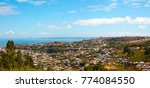 panoramic view of the city of...   Shutterstock . vector #774084550