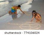 boracay 18 sep 2015 ... | Shutterstock . vector #774106024