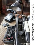 original vintage office from... | Shutterstock . vector #774106138