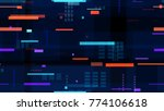 tech seamless texture with...   Shutterstock .eps vector #774106618