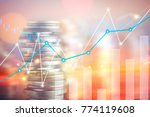 finance  capital banking and... | Shutterstock . vector #774119608