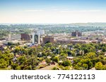 panorama of rapid city  south... | Shutterstock . vector #774122113