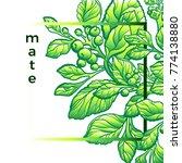 vector modern nature template....   Shutterstock .eps vector #774138880