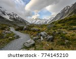 mt cook in new zealand | Shutterstock . vector #774145210