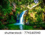 the natural waterfall unseen in ... | Shutterstock . vector #774160540