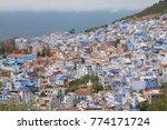 traditional moroccan courtyard... | Shutterstock . vector #774171724