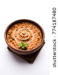 Small photo of Dal makhani or daal makhni