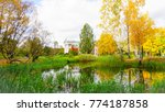 autumn in russia moscow | Shutterstock . vector #774187858
