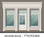 store or boutique front with... | Shutterstock .eps vector #774192364