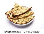 garlic and coriander naan... | Shutterstock . vector #774197839