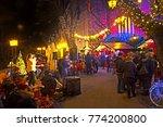 night view from the strossmayer ... | Shutterstock . vector #774200800