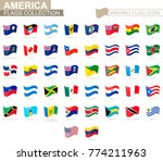 waving flag icon  flags of... | Shutterstock .eps vector #774211963