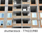 building construction site from ... | Shutterstock . vector #774221980