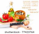 pasta | Shutterstock . vector #77423764